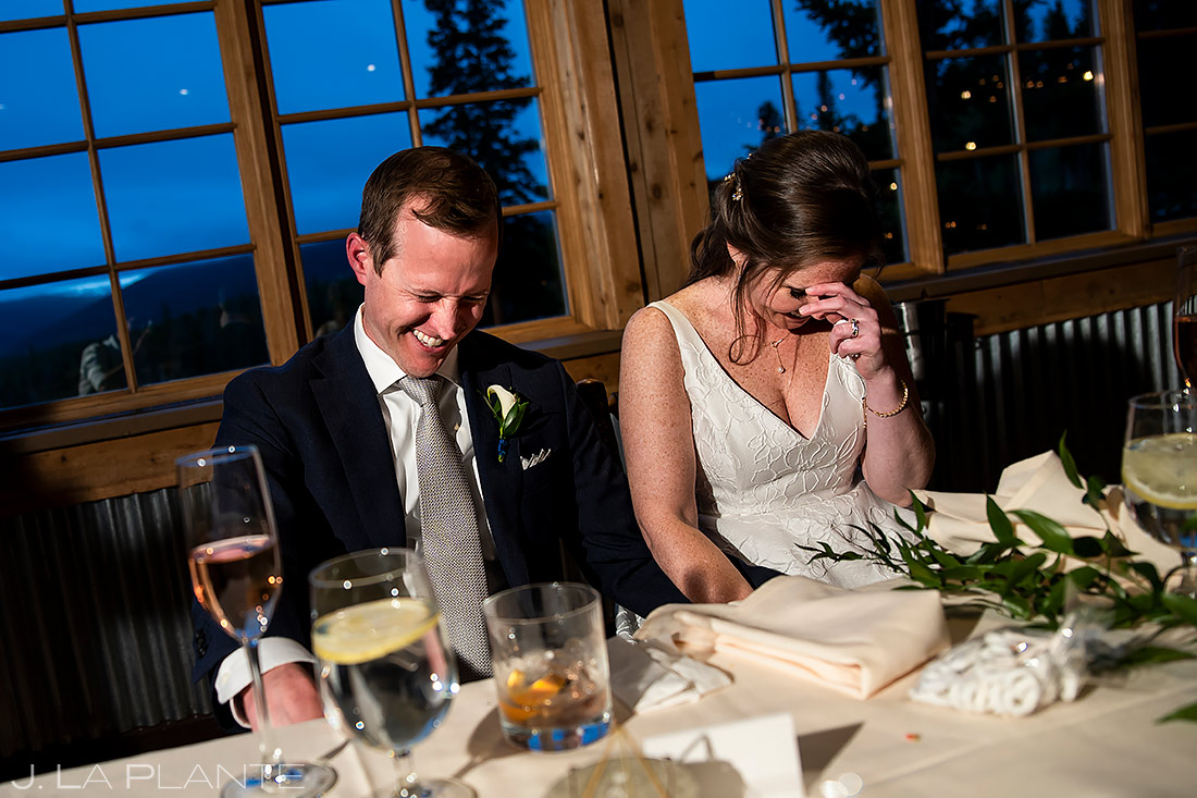 Wedding Toasts | Breckenridge Wedding | Breckenridge Wedding Photographer | J. La Plante Photo
