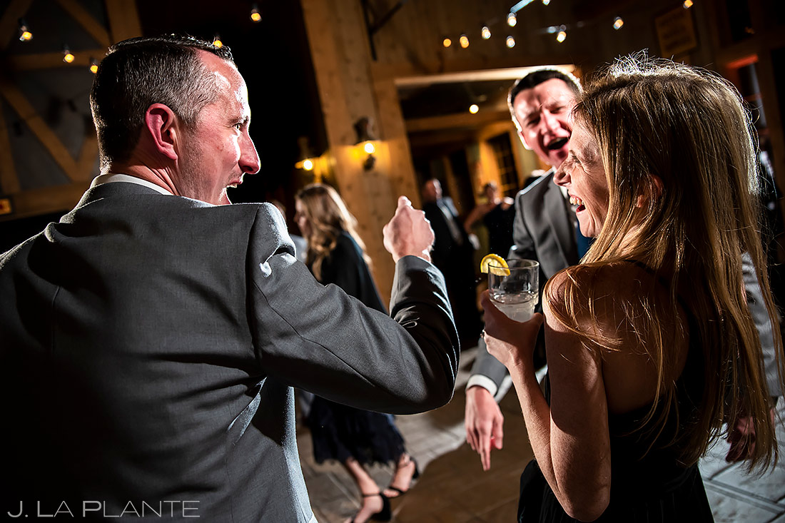 Wedding Reception Dance Party | Breckenridge Wedding | Breckenridge Wedding Photographer | J. La Plante Photo