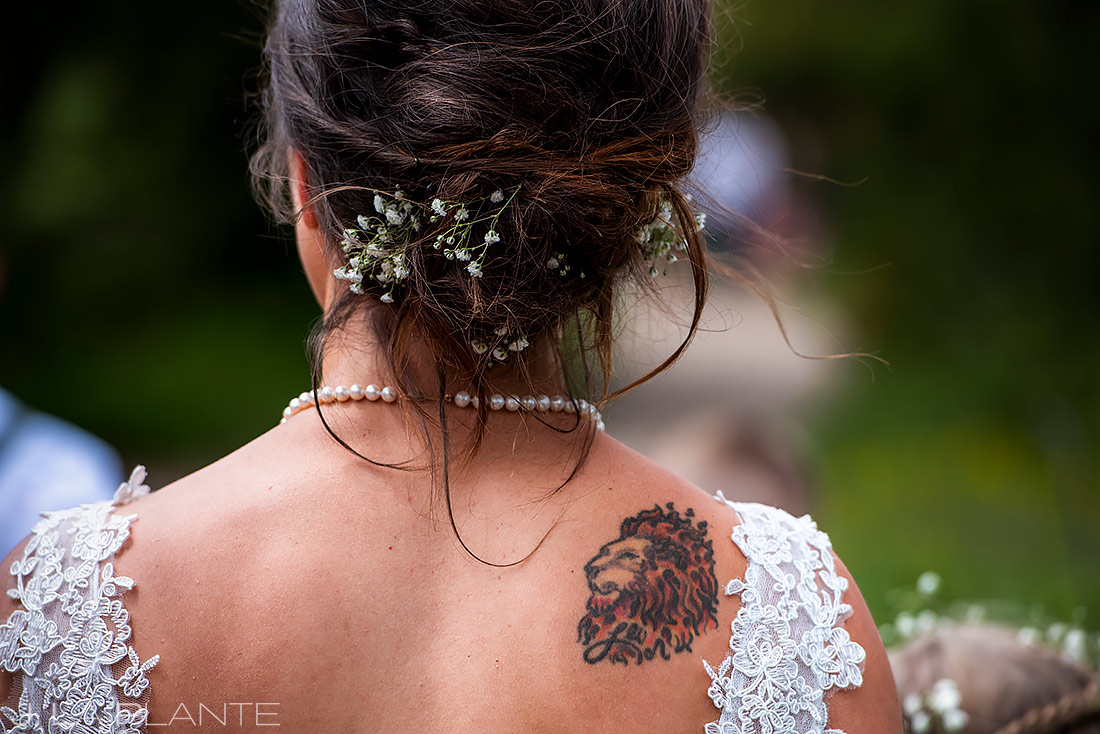 Bride Tattoos | Lily Lake Wedding | Estes Park Wedding Photographer | J. La Plante Photo