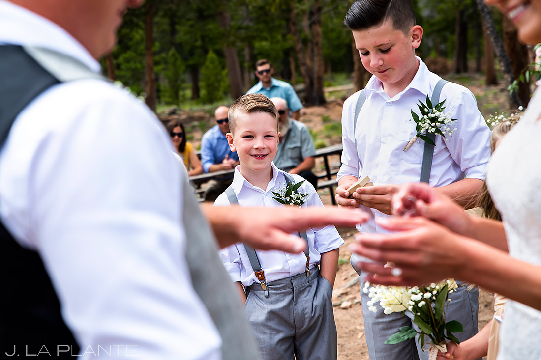 Wedding Rings | Lily Lake Wedding | Estes Park Wedding Photographer | J. La Plante Photo