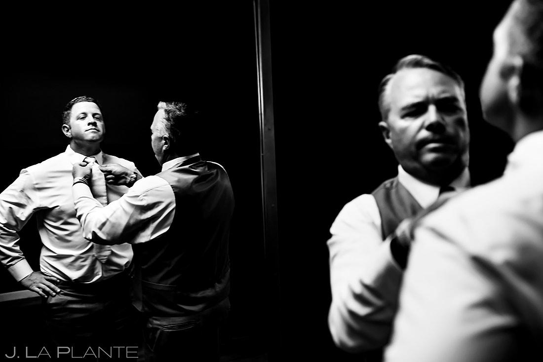 Groom Getting Ready | Lionsgate Wedding | Boulder Wedding Photographer | J. La Plante Photo