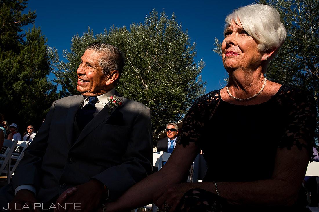 Parents of the Bride | Lionsgate Wedding | Boulder Wedding Photographer | J. La Plante Photo