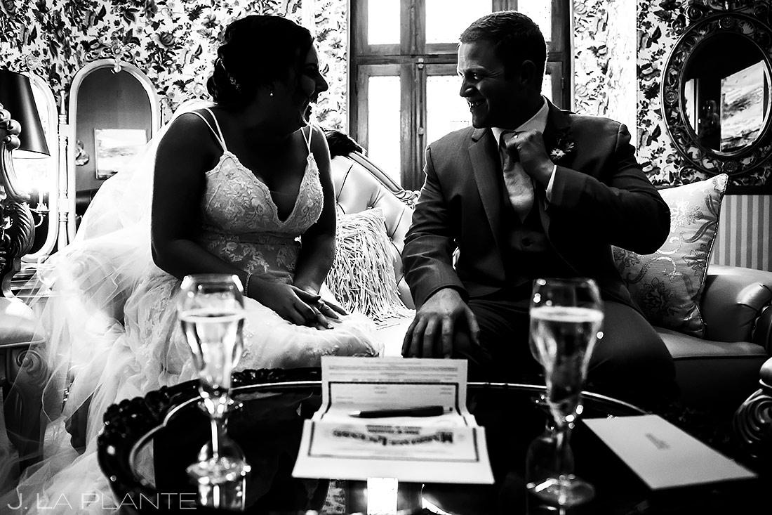 Signing the Marriage License | Lionsgate Wedding | Boulder Wedding Photographer | J. La Plante Photo