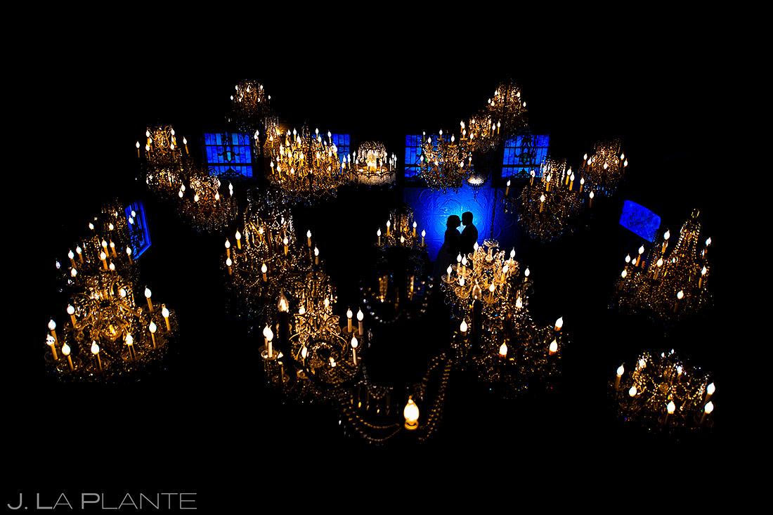 Bride and Groom Silhouette | Lionsgate Wedding | Boulder Wedding Photographer | J. La Plante Photo