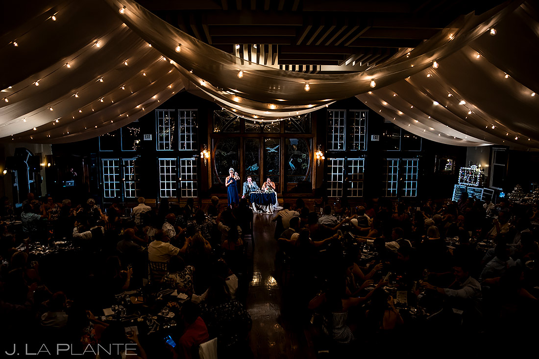 Maid of Honor Toast | Lionsgate Wedding | Boulder Wedding Photographer | J. La Plante Photo