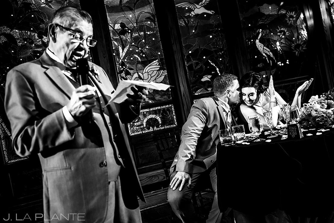 Father of the Bride Speech | Lionsgate Wedding | Boulder Wedding Photographer | J. La Plante Photo