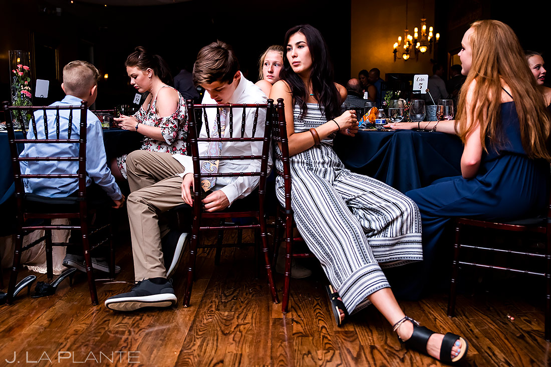 Wedding Guests Hanging Out | Lionsgate Wedding | Boulder Wedding Photographer | J. La Plante Photo