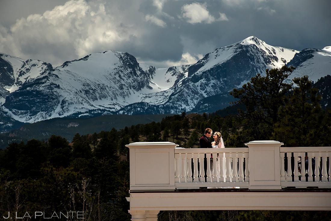 Stanley Hotel First Look | Best Colorado Wedding Venues