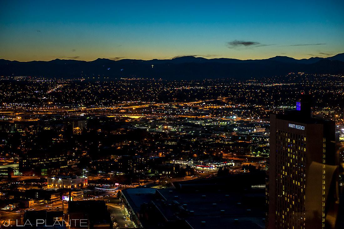 Denver Grand Hyatt Wedding | View from the Pinnacle Club