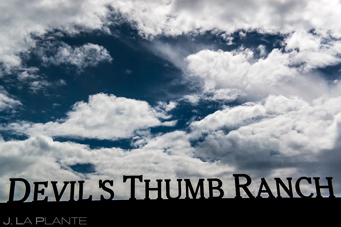 Devil's Thumb Ranch Wedding | Best Colorado Wedding Venues