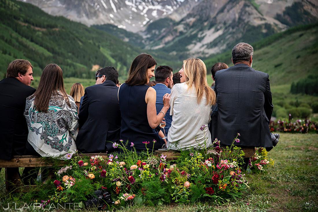 Mountain Wedding Ceremony | Pine Creek Cookhouse Wedding | Aspen Wedding Photographer | J. La Plante Photo