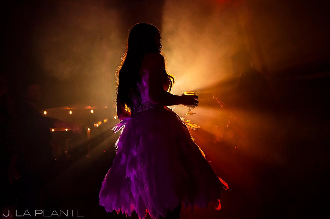 Bride Dancing | Pine Creek Cookhouse Wedding | Aspen Wedding Photographer | J. La Plante Photo