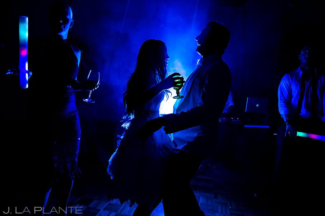 Bride and Groom Dancing | Pine Creek Cookhouse Wedding | Aspen Wedding Photographer | J. La Plante Photo