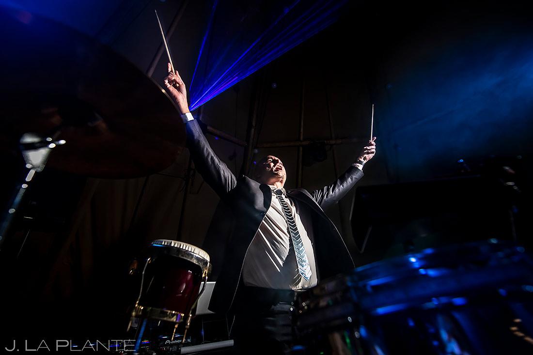 Live Band at Wedding | Pine Creek Cookhouse Wedding | Aspen Wedding Photographer | J. La Plante Photo
