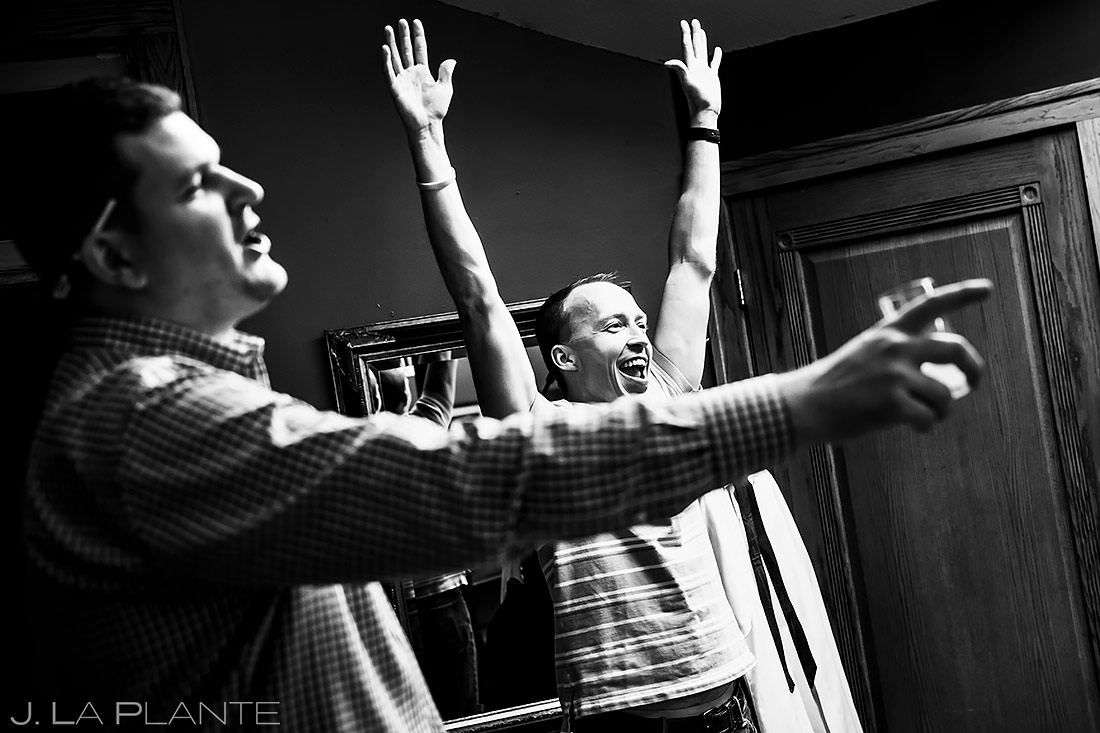 Groomsmen Getting Ready | Lionsgate Wedding | Boulder Wedding Photographer | J. La Plante Photo