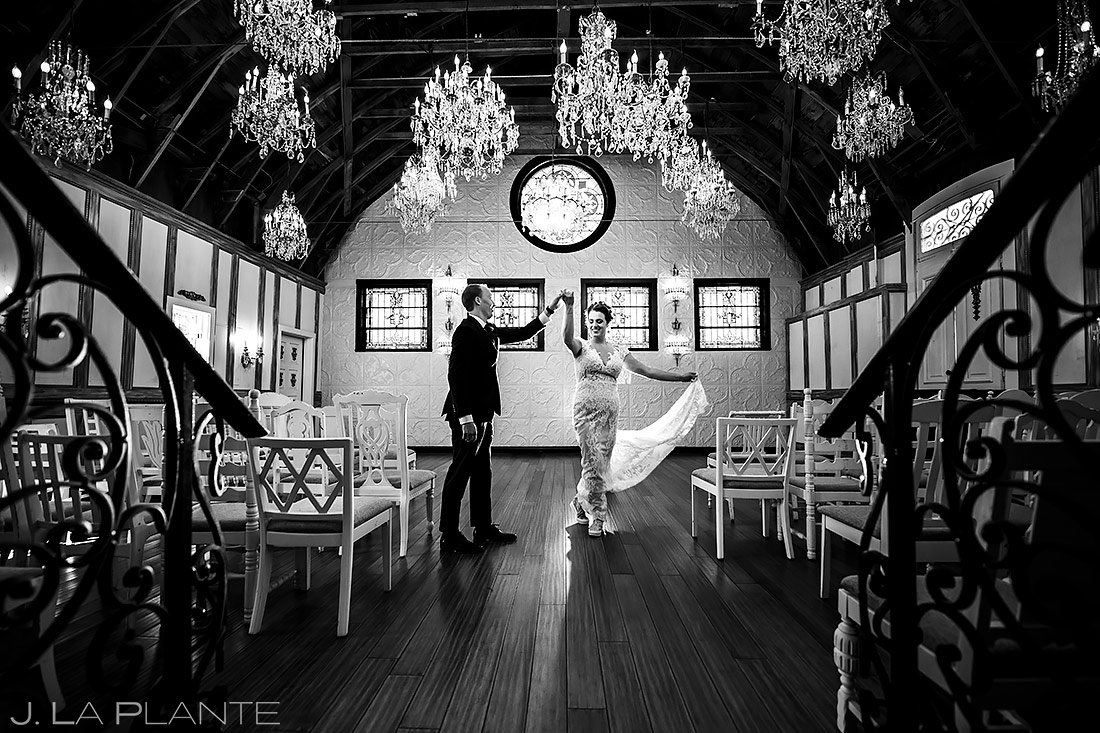 Bride and Groom Dancing | Lionsgate Wedding | Boulder Wedding Photographer | J. La Plante Photo