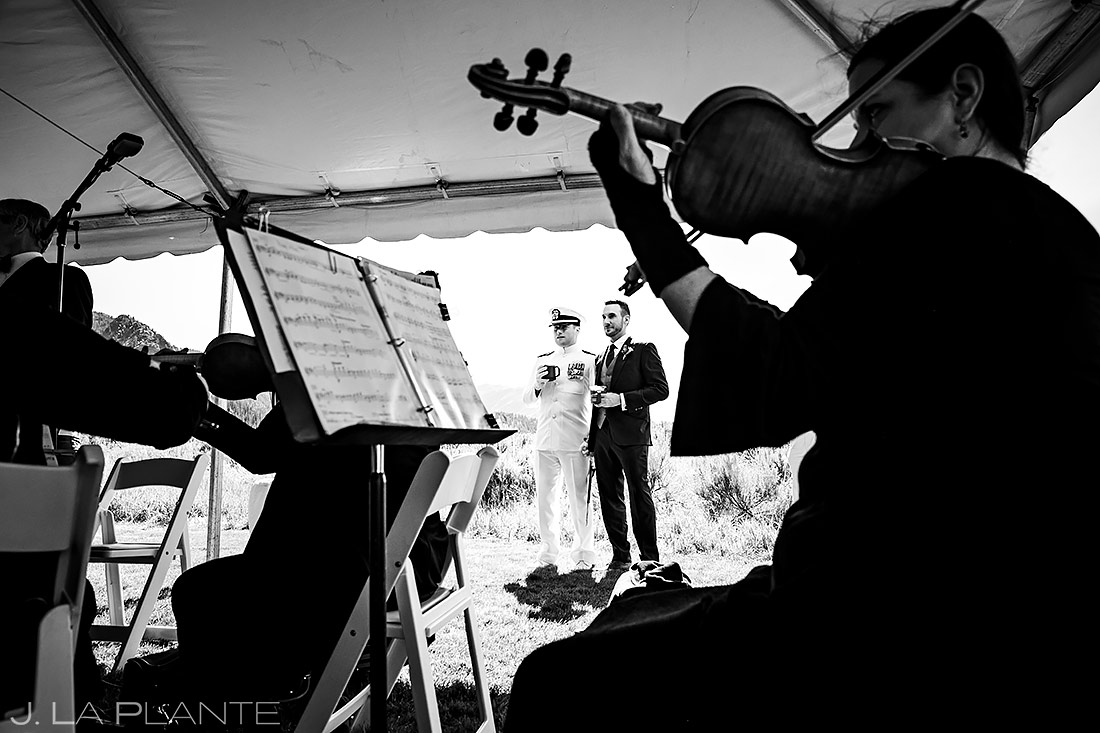 Wedding Orchestra | Aspen Meadows Resort Wedding | Aspen Wedding Photographer | J. La Plante Photo