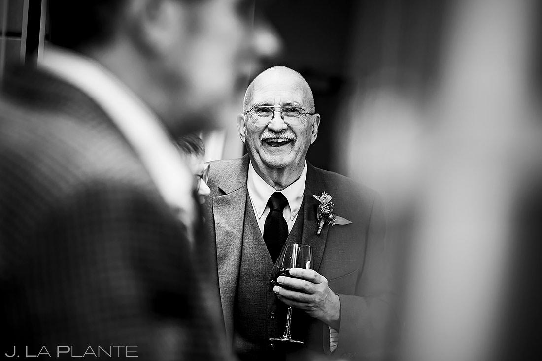 Wedding Cocktail Hour | Aspen Meadows Resort Wedding | Aspen Wedding Photographer | J. La Plante Photo