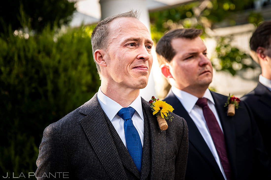 Outdoor Wedding Ceremony | Lionsgate Wedding | Boulder Wedding Photographer | J. La Plante Photo