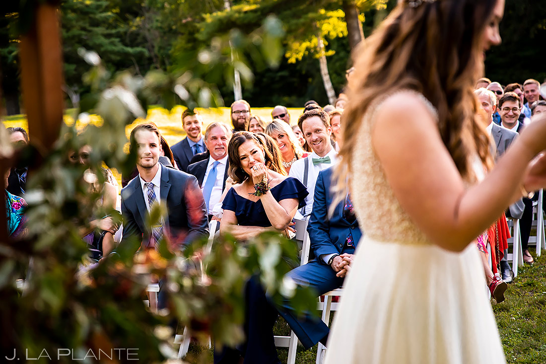 Outdoor Wedding Ceremony | New York Destination Wedding | Destination Wedding Photographers | J. La Plante Photo