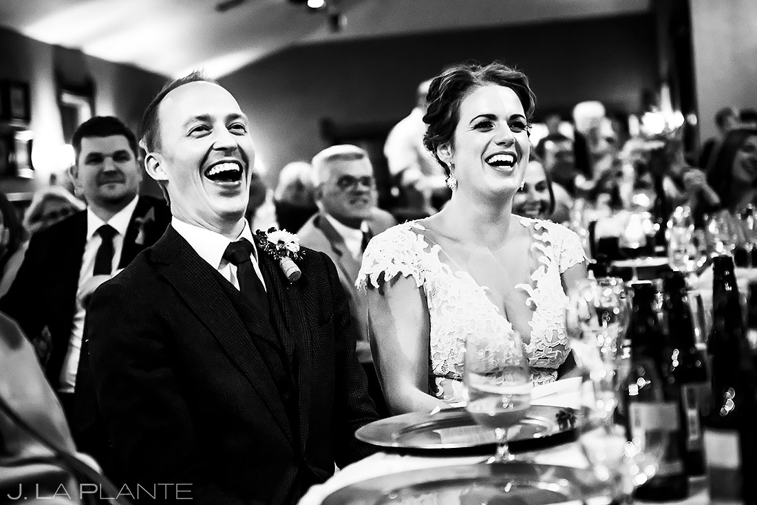 Wedding Toasts | Lionsgate Wedding | Boulder Wedding Photographer | J. La Plante Photo