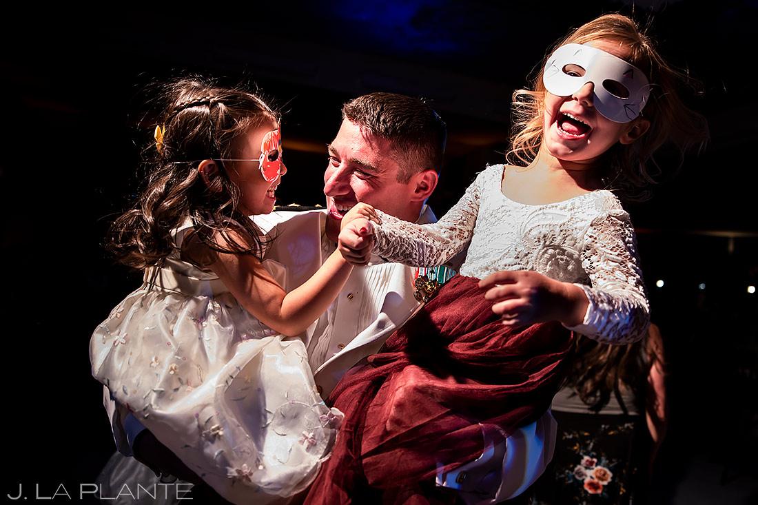 Wedding Kids Dancing | Aspen Meadows Resort Wedding | Aspen Wedding Photographer | J. La Plante Photo
