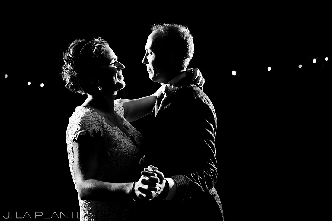 Bride and Groom First Dance | Lionsgate Wedding | Boulder Wedding Photographer | J. La Plante Photo