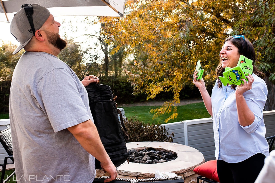 Ninja Turtle Themed Wedding | Sanctuary Golf Course Wedding | Denver Wedding Photographer | J. La Plante Photo