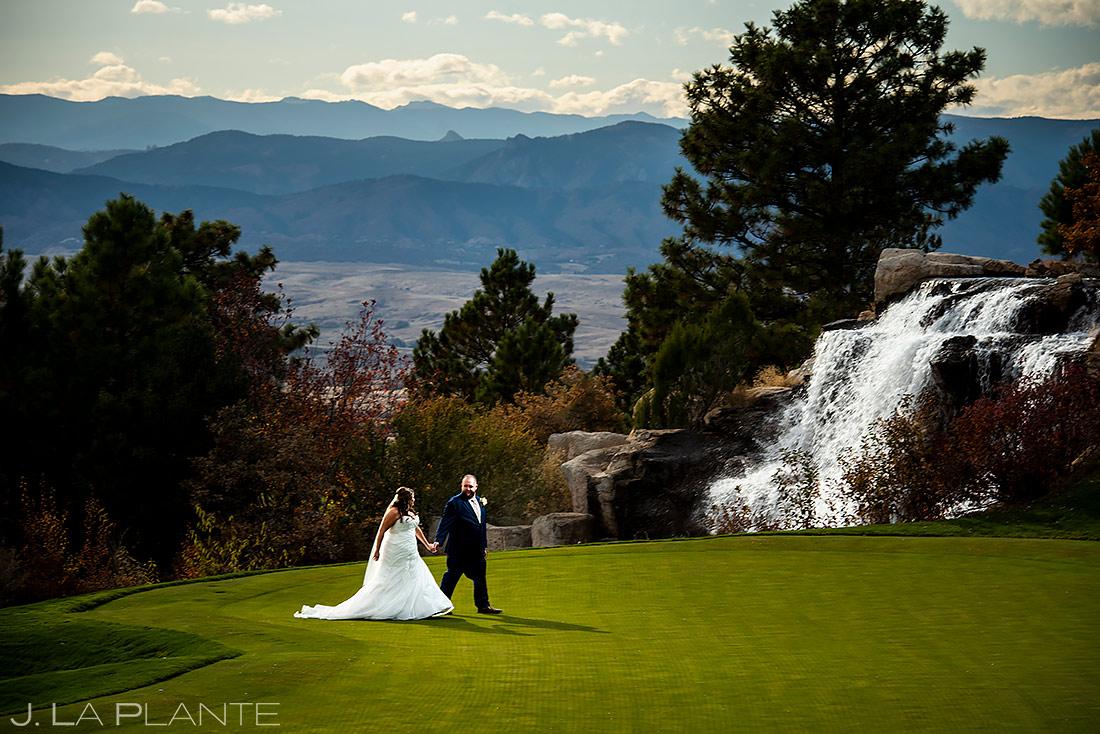 Bride and Groom Portrait | Sanctuary Golf Course Wedding | Denver Wedding Photographer | J. La Plante Photo