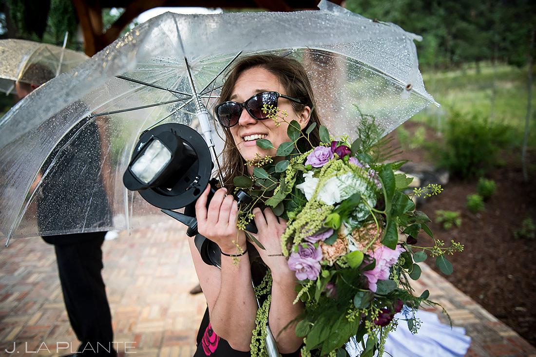Wedding Photographers at Work | Della Terra Wedding | Estes Park Wedding Photographer | J. La Plante Photo
