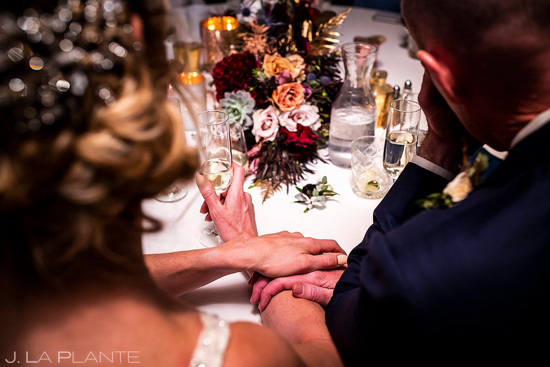 Wedding toasts | Ironworks Wedding | Denver Wedding Photographer | J. La Plante Photo