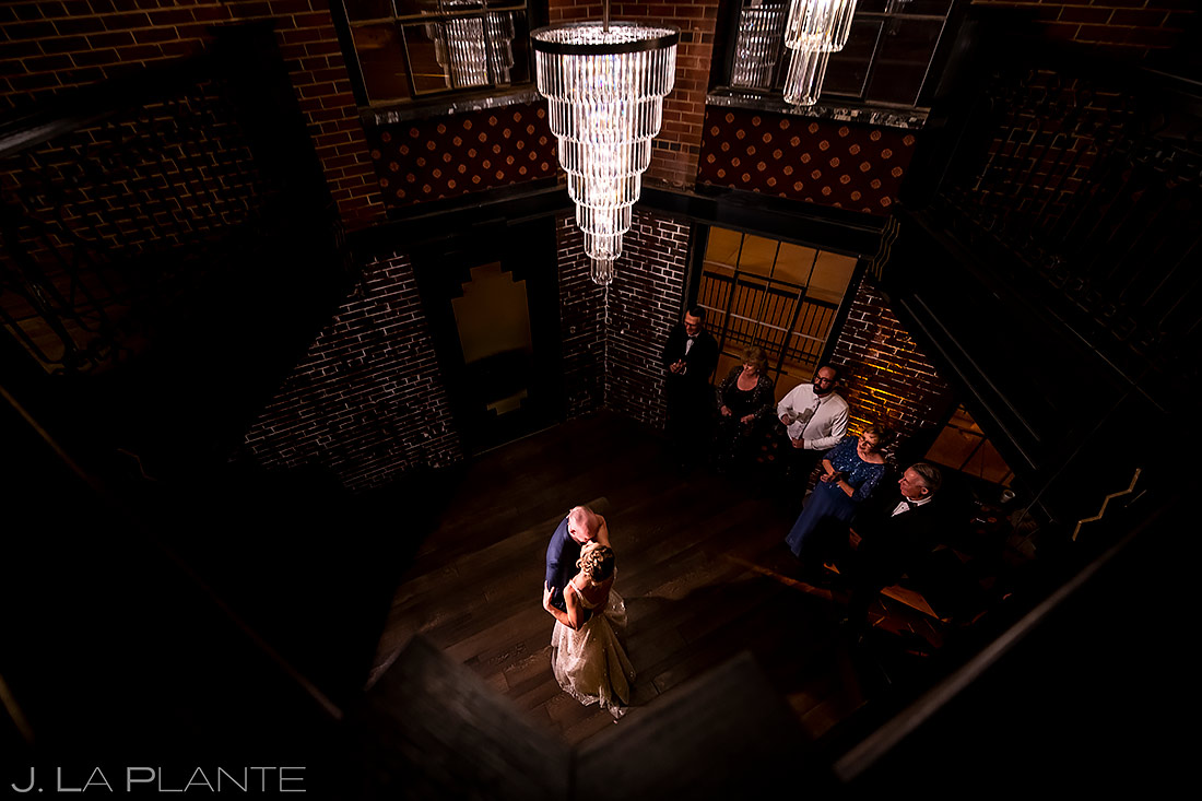 First dance | Ironworks Wedding | Denver Wedding Photographer | J. La Plante Photo