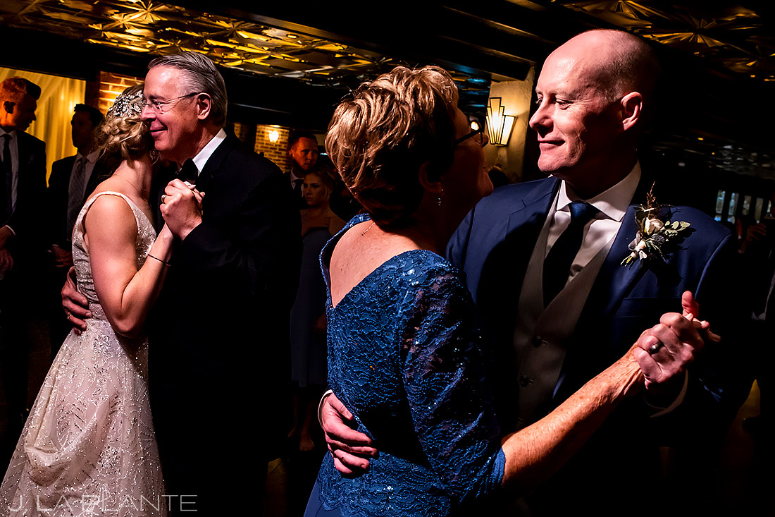 Parent dances | Ironworks Wedding | Denver Wedding Photographer | J. La Plante Photo