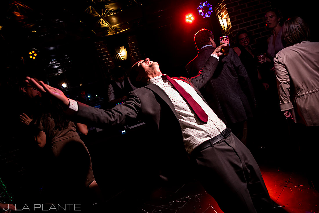 Wedding dance party | Ironworks Wedding | Denver Wedding Photographer | J. La Plante Photo
