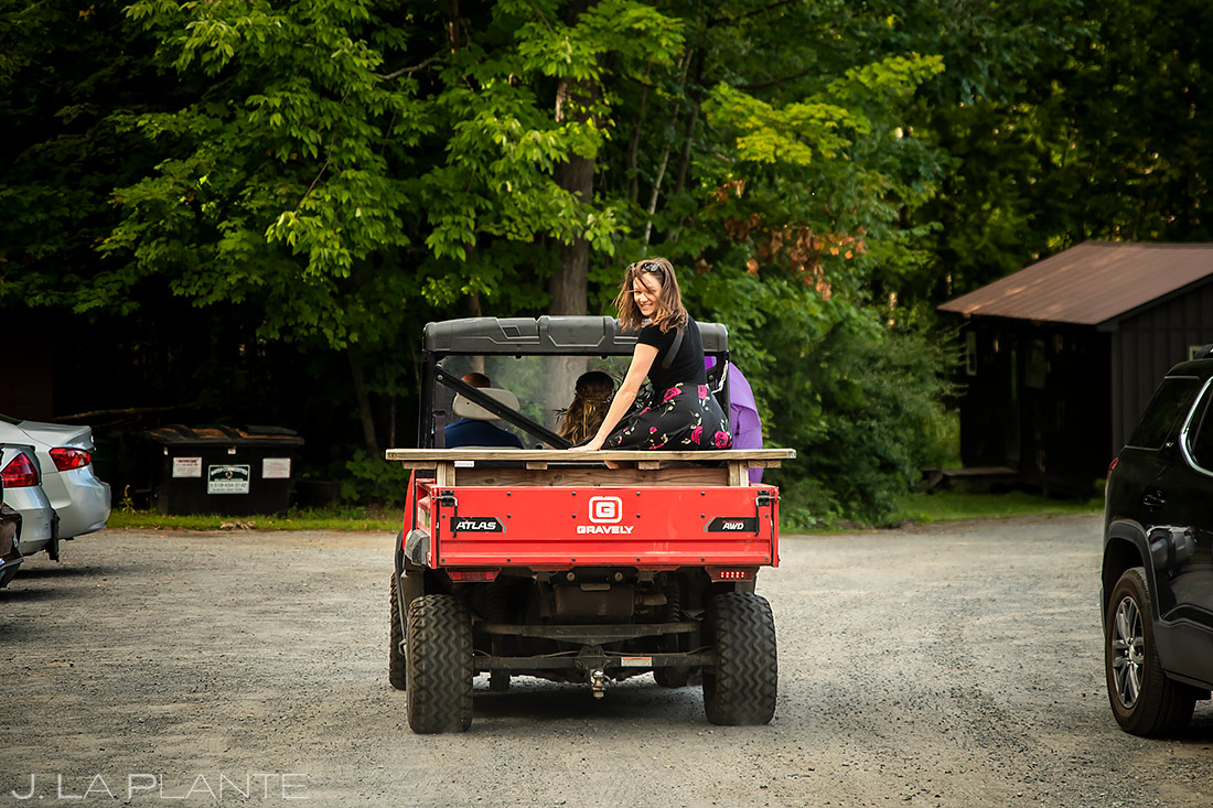 Forest Lake Camp Wedding | Upstate New York Wedding | Destination Wedding Photographer | J. La Plante Photo