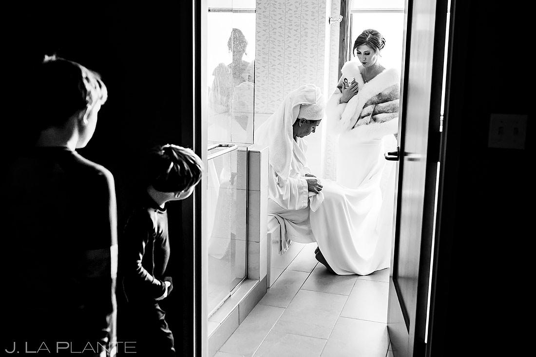 Bride Getting Ready | Sonnenalp Club Wedding | Beaver Creek Wedding Photographer | J. La Plante Photo