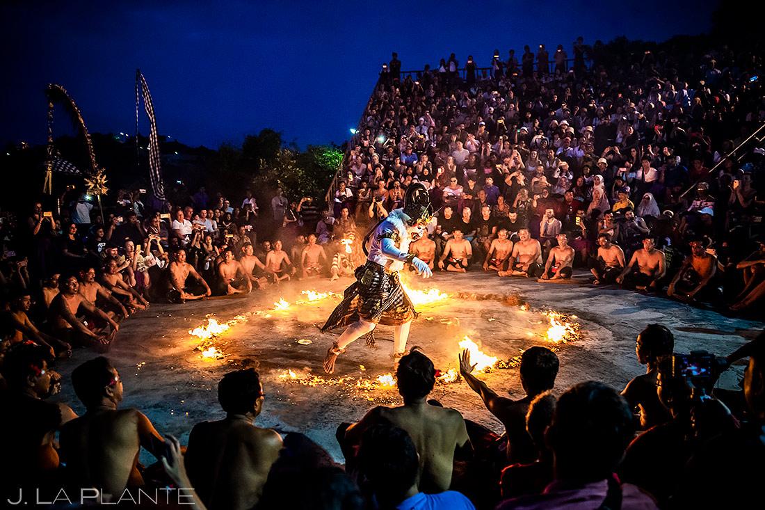 Uluwatu Temple Fire Dancers | Bali Travel Photography | Destination Travel Photographer | J. La Plante Photo