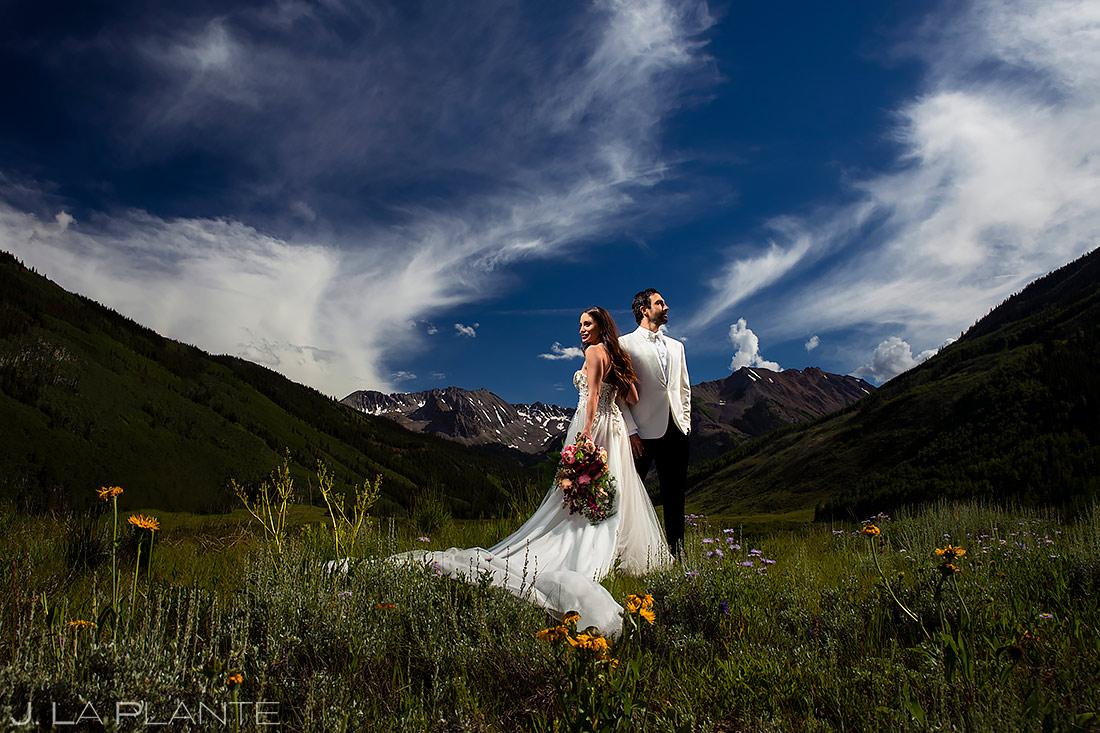 Cool Wedding Photo Ideas | Pine Creek Cookhouse Wedding | Aspen Wedding Photographer | J. La Plante Photo
