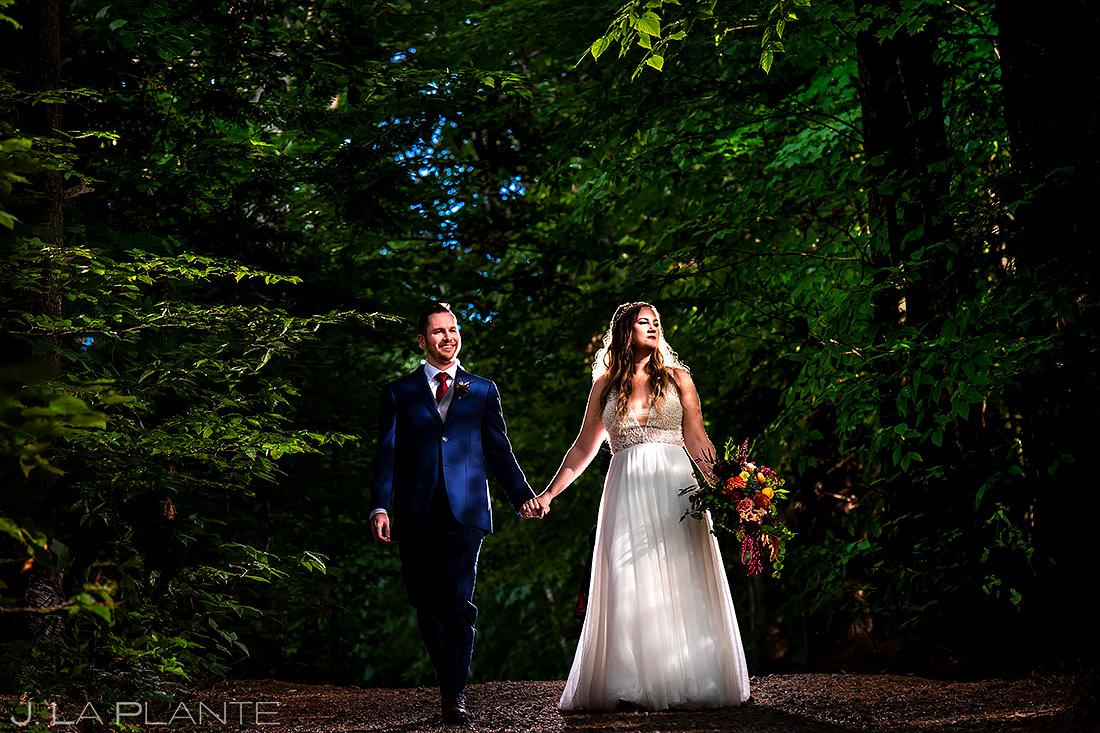 Cool Bride and Groom Portrait | Upstate New York Wedding | Destination Wedding Photographer | J. La Plante Photo