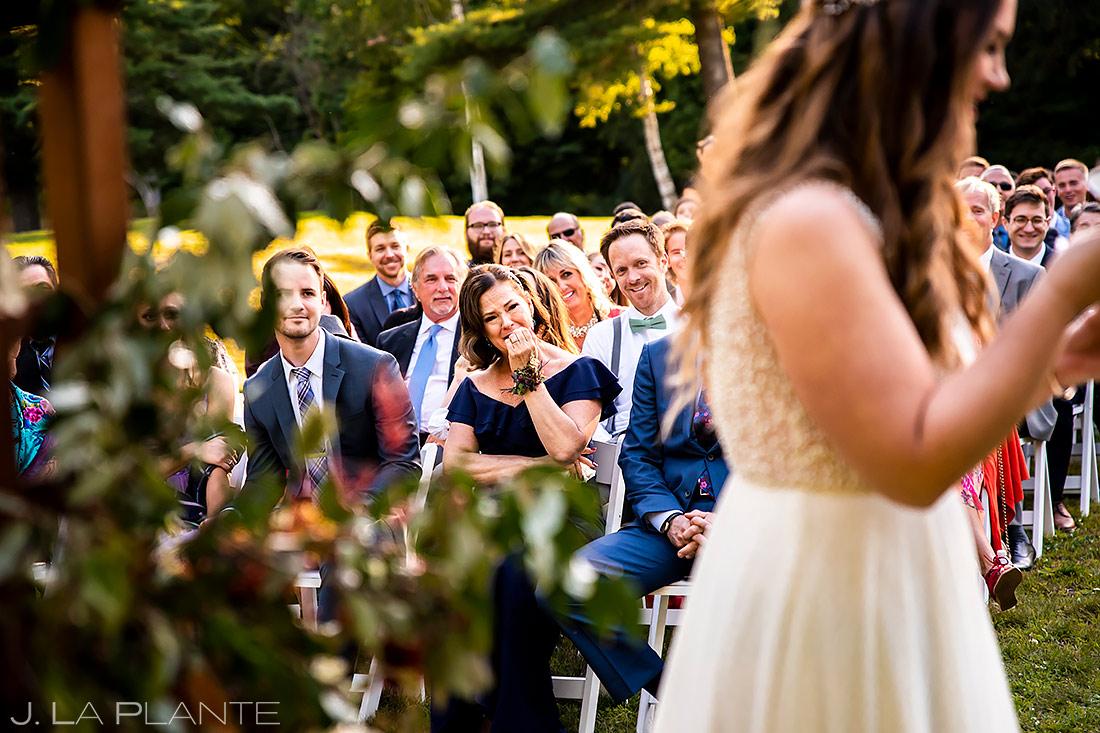 Outddor Wedding Ceremony | Upstate New York Wedding | Destination Wedding Photographer | J. La Plante Photo