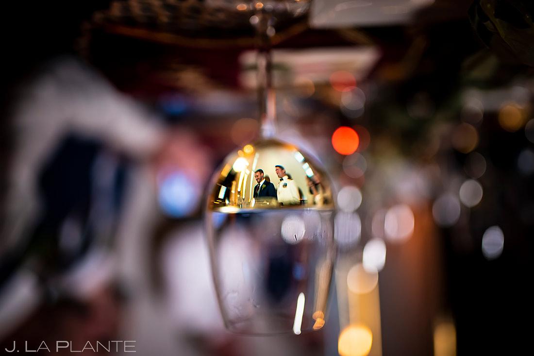Groom and Groom Wedding Toasts | Aspen Meadows Resort Wedding | Aspen Wedding Photographer | J. La Plante Photo