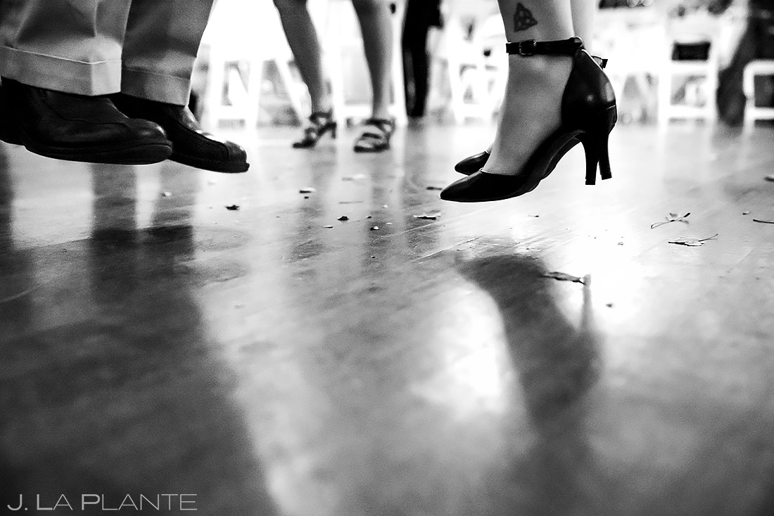 Wedding Guests Dancing | Tapestry House Wedding | Fort Collins Wedding Photographer | J. La Plante Photo