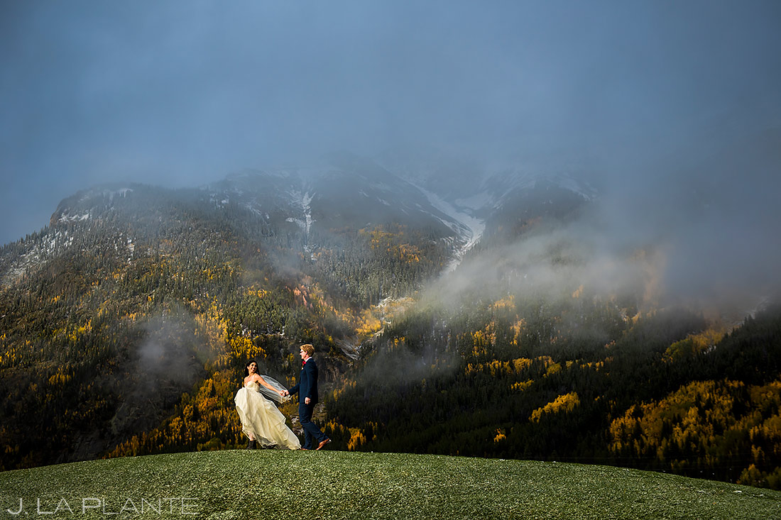 Fall Wedding at Copper Mountain | Copper Mountain Wedding | Colorado Wedding Photographer | J. La Plante Photo