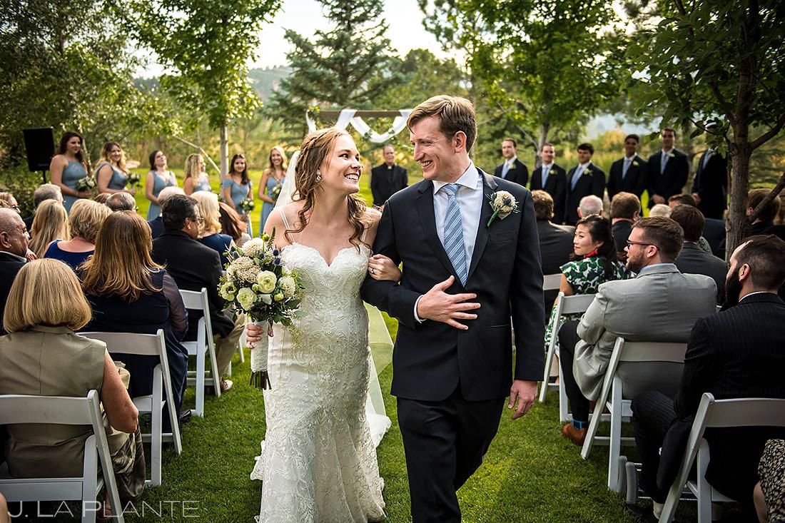 Boulder Wedding Ceremony | Greenbriar Inn Wedding | Boulder Wedding Photographer | J. La Plante Photo