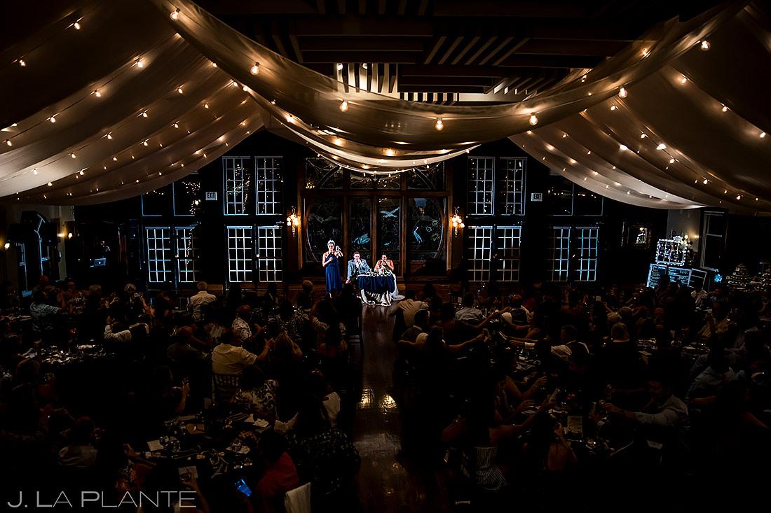 Maid of Honor Speech | Lionsgate Wedding | Boulder Wedding Photographer | J. La Plante Photo