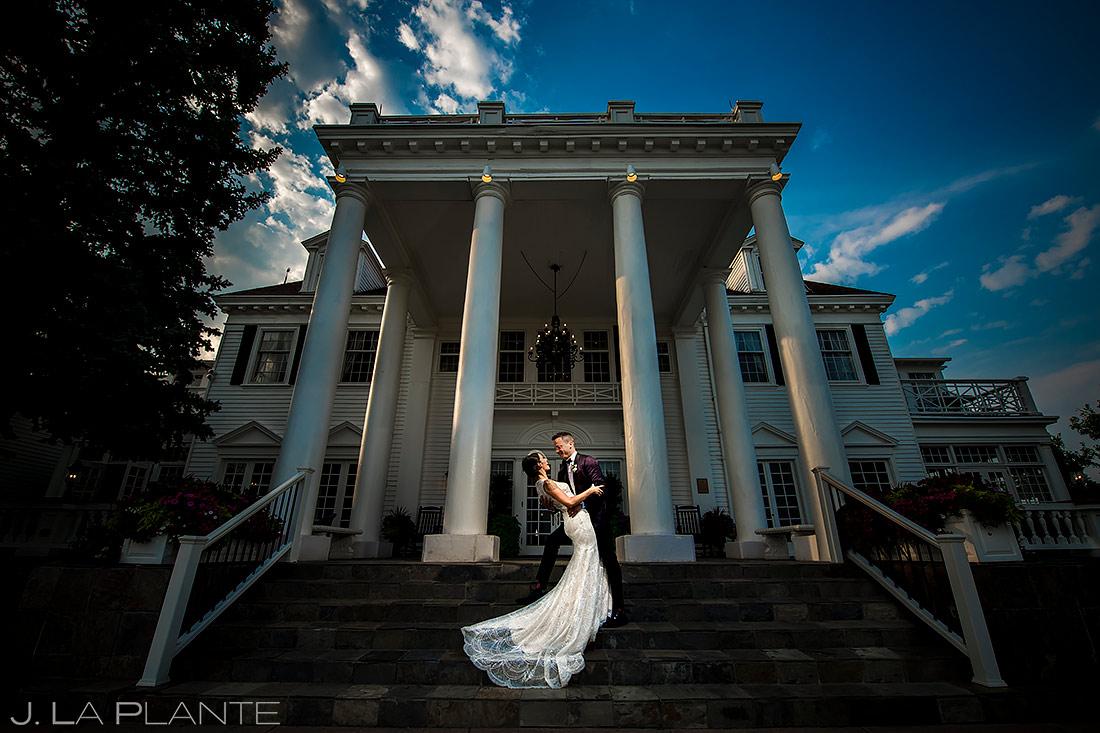 Unique Bride and Groom Portrait | Manor House Wedding | Denver Wedding Photographer | J. La Plante Photo