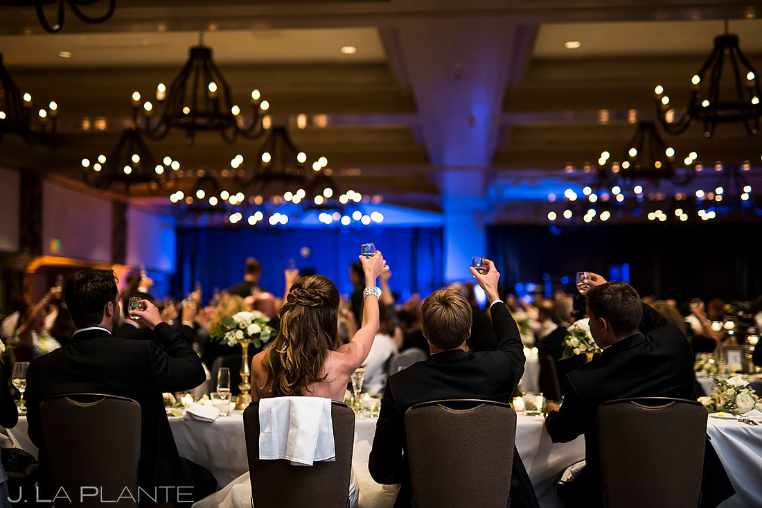 Wedding Reception Toasts | Park Hyatt Beaver Creek Wedding | Beaver Creek Wedding Photographer | J. La Plante Photo