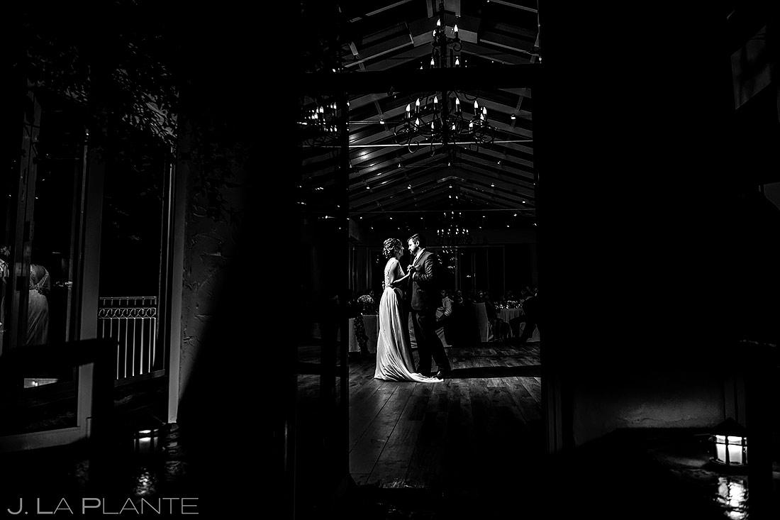 Bride and Groom First Dance | Sonnenalp Hotel Wedding | Vail Wedding Photographer | J. La Plante Photo