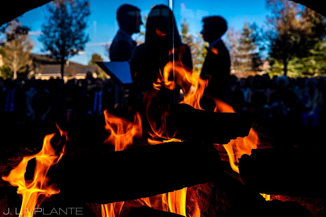 Same Sex Wedding Ceremony | Spruce Mountain Ranch Wedding | Colorado Wedding Photographer | J. La Plante Photo