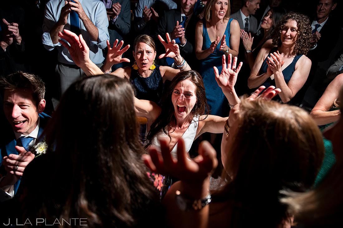 Wedding Reception Dance Party | The St. Vrain Wedding | Boulder Wedding Photographer | J. La Plante Photo